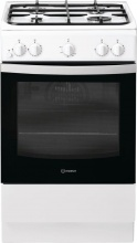 Indesit IS5G0KMW Cucina a Gas 4 Fuochi Forno Gas 50x60 Bianco IT