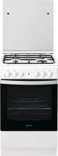 Indesit IS5G4KHWEU Cucina a Gas 4 Fuochi Forno Elettrico Grill 50x60 cm Bianco
