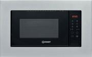 Indesit MWI 120 SX Forno a Microonde da Incasso 20 Litri 800 Watt 60 cm Acciaio