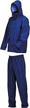 Industrial Giacca Impermeabile con Pantaloni Completo Antipioggia 040XXL
