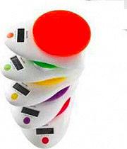 Innofit INN-126G Bilancia Cucina Digitale Max 5 kg. Display lcd Col Verde
