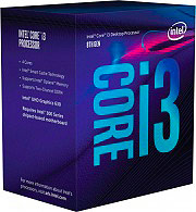 Intel BX80684I38100 i3 Cpu Processore QuadCore Intel Core i3-8100