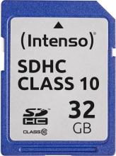 Intenso 3411480 Scheda di Memoria SD 32GB Classe 10