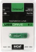Intenso 3502460 Pen Drive Memoria USB 8Gb colore Verde