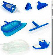 Intex Kit pulizia Piscine Retino + Asta + Spazzola + Aspiratore Deluxe - 28003