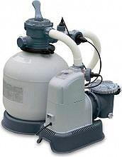 Intex Pompa a Sabbia per Piscine Capacità 10,000 Lth Clorinatore Combo 28680