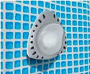 Intex Lampada Magnetica a Parete per Piscina a LED Potenza 3W - 28688