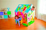 Intex 45642 Casa Casetta Gioco Esterno Bambini cm 95x75x107 h - Animal
