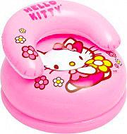 Intex 48508 Poltrona Bambini Poltroncina Gonfiabile Max 35 Kg - Hello Kitty