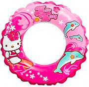 Intex Salvagente Galleggiante Bambini Ciambella Gonfiabile Hello Kitty - 56200