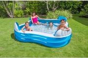 Intex 56475NP Piscina Fuoriterra Fuori terra Gonfiabile Bambini cm 229x229 Family Swim Center