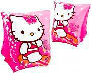 Intex Coppia Braccioli Gonfiabili Piscina Mare Bambini 23x15 Hello Kitty 56656