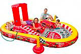 Intex Piscina Gonfiabile Play Center Gioco Bambini cm 348x198x121 Cars 57134