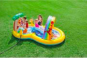 Intex Piscina Gonfiabile Play Center Gioco Bambini cm 282x173x107 h Winnie Pooh