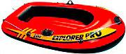 Intex Canotto Gommone Gonfiabile 2 posti Mare cm 196x102x33 Explorer Pro 200
