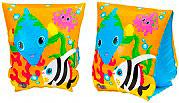 Intex 58652 Braccioli Gonfiabili per Bambini Anni 3-6 23x15 cm -  Fun Fish
