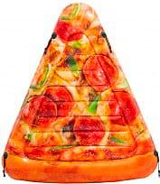 Intex 58752 Materasso Gonfiabile Materassino Mare 175x145 cm  Pizza Slice