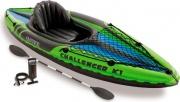 Intex 68305NPEP Kayak Canoa Gonfiabile 1 posto Mare cm 274x76x33 h Remi Challenger K1