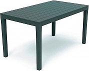 IPAE PROGARDEN 01790 Tavolo da Giardino Plastica Rettangolare 138x78x72 cm Sumatra