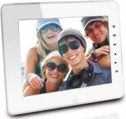 """Irradio 165500103DPF8001HRT Cornice digitale portafoto 8"""" Colore Bianco - 165500103 - DPF8001HRT"""