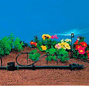 IRRITEC 14-4x7 Tubo Capillare per Irrigazione Giardino Diametro 7 mm Rotolo da 50 Metri