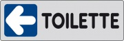 Ist 1590 9640 Etichetta Adesiva 150x50 Toilette Sx Pezzi 10