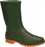 Italboot 0631- 40 Stivali Bassi da lavoro in PVC a tronchetto Tg 40 Verde