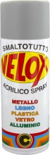 Ital G.E.T.E. BLGHU1328 Velox Spray Antiruggine grigia Ral 7004 Pezzi 6