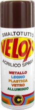 Ital G.E.T.E. BLGHU1320 Velox Spray Acrilico Marrone Mogano Ral 8016 Pezzi 6