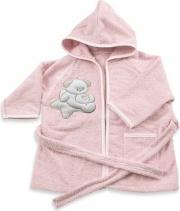 Italbaby 504050371 Accappatoio Sweet 6-18 mesi Rosa