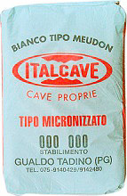 Italcave Gesso Bianco tipo micronizzato Speciale per Tempere 25 Kg Meudon