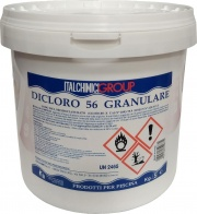 Italchimici 32987 Cloro per piscine in polvere 5 Kg