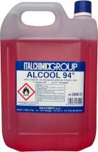Italchimici 53502AC500094 Alcool Denaturato 94° Certificato lt. 5 pz 3