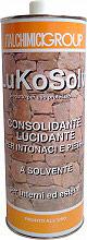 Italchimici LukSol Consolidante Lucidante per Intonaci e Pietra Solvente 1 lt Lukosolv