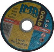 Italmedia 52100 016 Dischi Smerigliatrice Per Acciaio 5 pz Gold 115 x 1.6 x 22