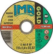 "Italmedia 52150 016 Ima Minidisco x Marmo ""Gold"" Piano 115 x 1.6 x 22"
