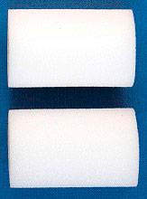 Itr 1001-05K Rullo per Pittura in Spugne Bianca set 2 pezzi lunghezza 5 cm