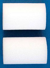 Itr 1001-10K Rullo per Pittura in Spugne Bianca set 2 pezzi lunghezza 10 cm