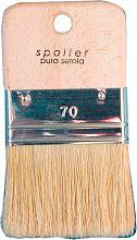 Itr 111.70 Spalter Pittura Manico in Legno e Setola Bionda Larghezza 70 mm