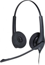 JABRA 1519-0154 Cuffie con Microfono per Ufficio  Call Center  BIZ 1500 Duo QD