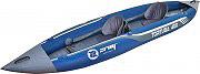 JILONG 37330 Canoa gonfiabile Kayak mare 2 Posti 400x90 cm Remo  Z-Ray Tortuga