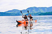 JILONG 37417 Canoa gonfiabile Kayak mare 2 Posti 426x81 cm Remo Pompa  ZRay Drift