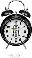 JM JA-3011JU1 Sveglia Analogica a Campana Bianco Nero  Juventus