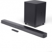 Jbl JBLBAR51IMBLKEP Soundbar Bluetooth 5.1 Home Theatre 550W Wifi AirPlay USB