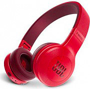 Jbl JBLE45BTRED Cuffie Bluetooth Microfono Wireless Senza Fili ad Archetto Rosso E45BT