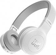 Jbl JBLE45BTWHT Cuffie Bluetooth Microfono Wireless Senza Fili ad Archetto Pieghevoli E45BTW