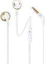 Jbl JBLT205CGD Auricolari Cuffie Microfono Tasto di Risposta colore Bianco  Oro T205