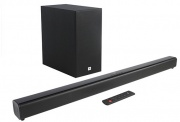 Jbl SB260 BLK Sounbar 2.1 Bluetooth Sistema Home Theatre 220 Watt SubWoofer Wireless SB260
