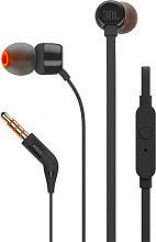 Jbl T110BLK Cuffie stereo Auricolari Microfono Tasto Risposta Mp3 Jack 3.5 mm Nero T110