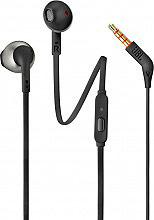 Jbl T205BLK Auricolari Cuffie Microfono In Ear Cuffiette Stereo Mp3 Nero T205